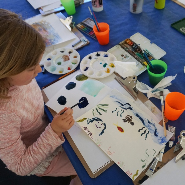 Family event: Draw with Colour
