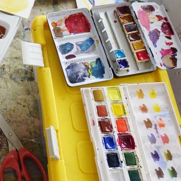 WORKSHOP: Beginner's Watercolour with Charles Williams RWS