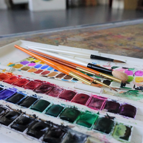 WORKSHOP: Watercolour Painting in the Studio